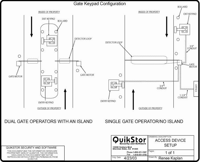 guardian gate keypad configuration quikstor support knowledgebase