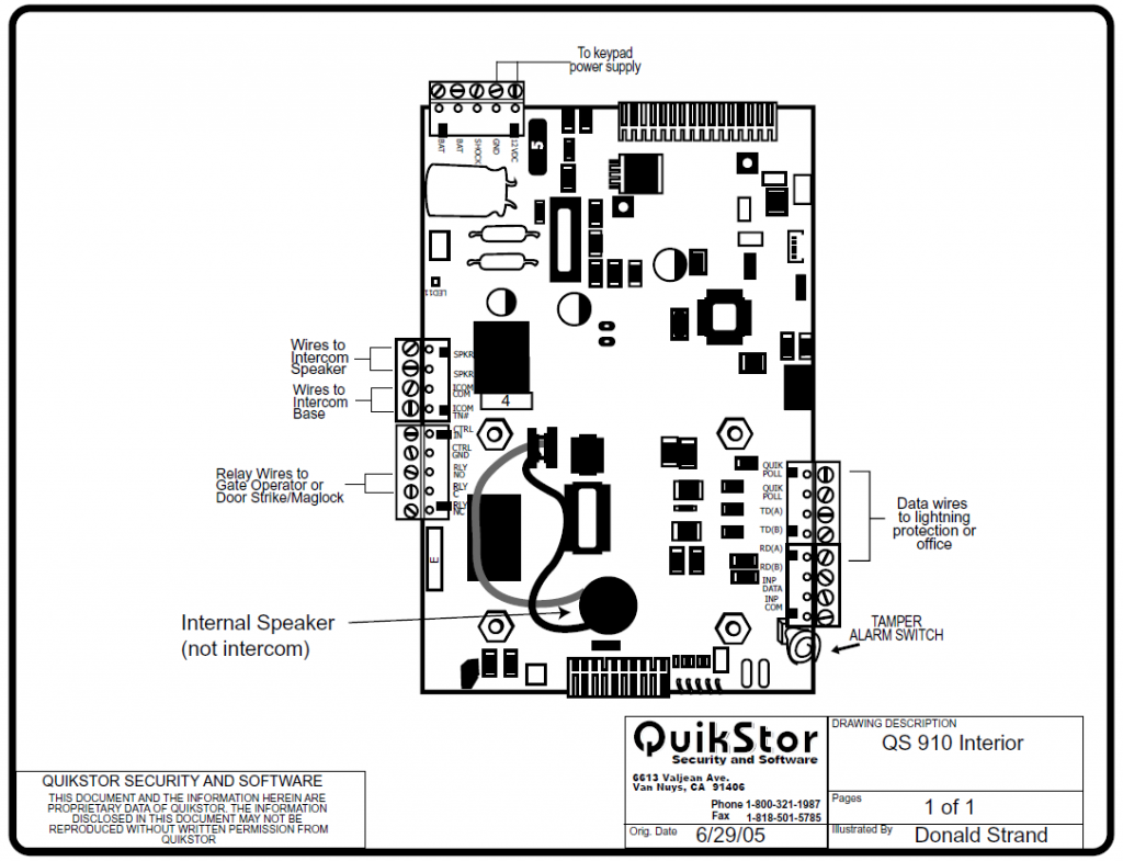 qs 910 keypad diagram  u2013 quikstor support knowledgebase